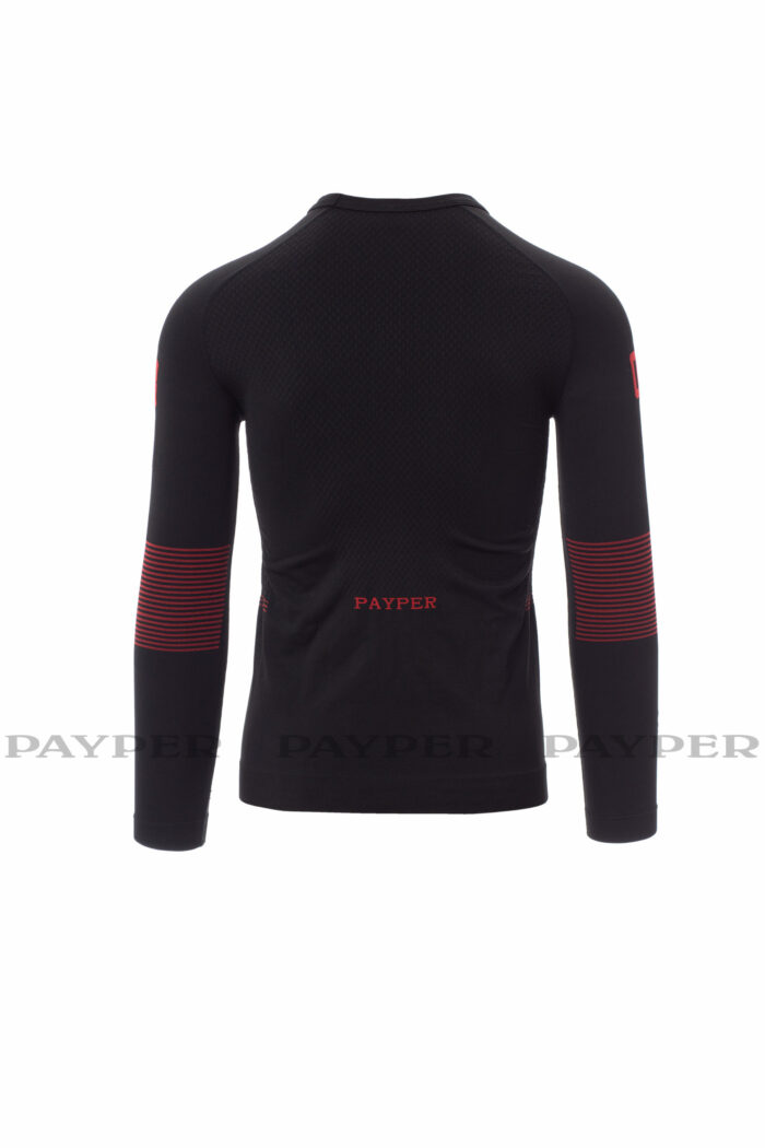 Thermo Pro 240 LS Homme, tricot thermique, tissage spéciaux, transpiration, thermorégulation, confort, ergonomique, 109 t-shirt, Payper, polyamide, polyester, elasthanne, près du corps, premiere couche, chaud, chaleur