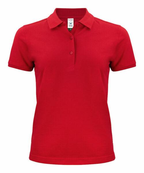028265_Classic OC Polo Ladies - Femme - Clique, 109 toits, coton agriculture biologique, bio, bande de propreté, près rétréci lavage 60, étiquette de coupable, idéal, ajustee