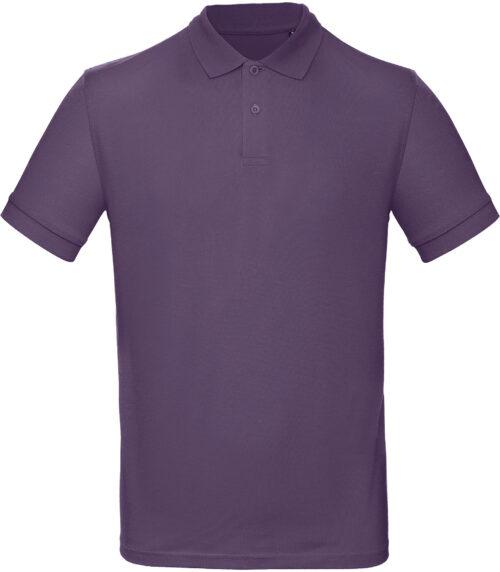 PM430-Polo-homme- B&c - organic Inspire Polo, B&c, 109 t-shirts, polo homme, coton organique, pas d'étiquette, manches courtes pique, coupe contemporaine